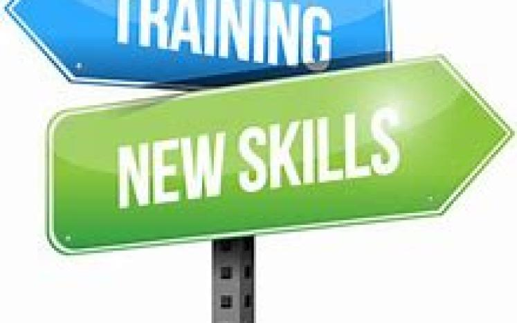 Training and New Skills Signs